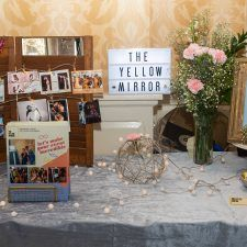 The Yellow Mirror at the Main Line Bridal Event 2020